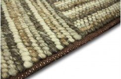 LUKSUSOWY niezwykły dywan BRINKER FEEL GOOD CARPETS CORBIN CORCB03 wełna filcowana naturalny 200x300cm
