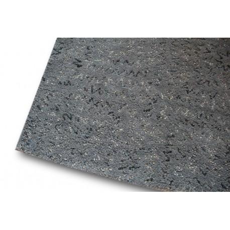 Niepowtarzalny wykonany ręcznie dywan z wełny i wełny filcowanej szary 160x230 Brinker Carpets