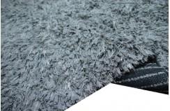 Szary dywan wełna filcowana i poliester tanio 165x235cm