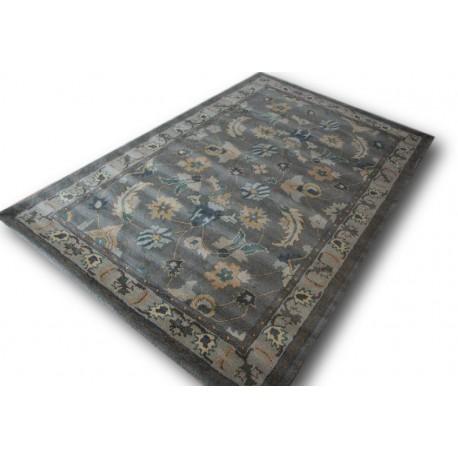 Brązowy wełniany klasyczny dywan Ziegler z Indii 2cm gruby jakość