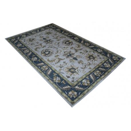 Jasny przepiękny dywan Persian z wełny owczej 155x245cm indyjski