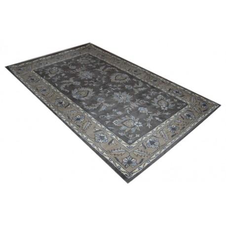 Brązowy klasyczny dywan persian ziegler 100% wełna tafting Indie