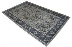 Wzorzysty dywan wełniany persian 155x245cm kawa z mlekiem