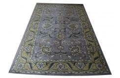 Piękny gruby welniany ciepły dywan z Indii ok 160x230cm porządny
