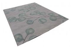 Nowoczesne kwiaty na pięknym dywanie 100% wełniany dywan indyjski 275x365cm beży