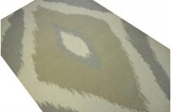 Szaro brązowo beżowy wełniany dywan piękny nowoczesny dywan do salonu 150x240cm