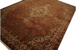 100% wełniany luksusowy dywan Bidjar (Bidżar) Takab (Bukan) z Iranu 100% wełna najwyższej jakosci motyw heratu 250x350cm