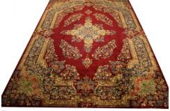 Absolutny unikat dywan Yazd Binesh ok 313x443cm 100% wełna cenny jedyny perski kobierzec lśniący kwiatowy