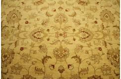 Beżowy oryginalny ręcznie tkany dywan Ziegler Farahan z Pakistanu 100% wełna 250x300cm ekskluzywny