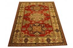 Jedyny dywan Kazak Gazuay SUPER gęsto tkany piękny 100% wełna ręcznie tkany z Pakistanu ekskluzywny 170x220cm