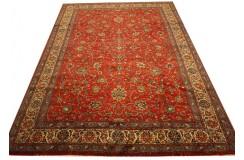 Czerwony piękny dywan Saruk z Iranu ok 250x350cm 100% wełna oryginalny ręcznie tkany perski
