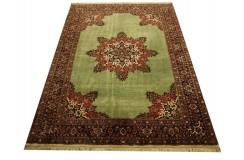 100% wełniany luksusowy dywan Bidjar (Bidżar) Takab (Bukan) z Iranu 100% wełna najwyższej jakości zielony 170x240cm