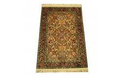 Indyjski dywan ręcznie tkany Kaszmir z czytego jedwabiu 60x90cm Jedwab naturalny klasyczny