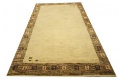 Niezwykły ręcznie gęsto tkany dywan Loribaft Rizbaft Kaszkuli z Iranu 80x143cm