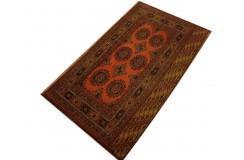 Oryginalny dywan z Afganistanu 70 letni polantyczny kobierzec 100% wełna monochromatyczny 84x184cm