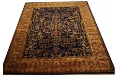 Perski ceny dywan Saruk ręczne tkany 250x300 100% wełna kork kwatowy gustowny do salonu