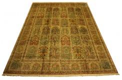 Dywan Kaszmir (Kashmir) z naturalnego jedwabiu w kwatery ok 300x400cm Indie ręcznie tkany