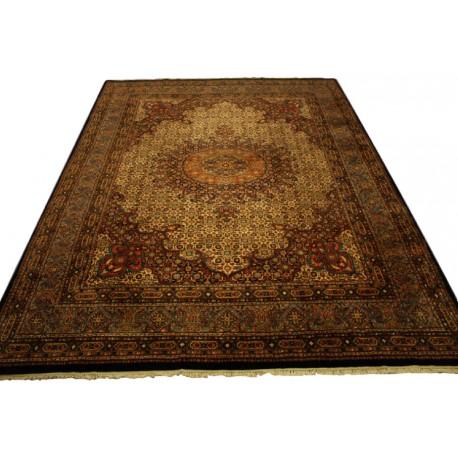 Ręcznie tkany eksklzywny dywan Mud Sherkat Farsh 300x400cm piękny pers