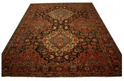 Oryginalny dywan ręcznie tkany Baktjar Saman Old z Iranu - perskie kwiatowe dzieło 300x400cm wełniany