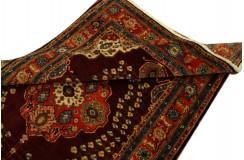 Kaukaski unkatowy gęsto tkany dywan Azerbejdżan Rosja 122x188cm kwiatowy medalion