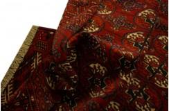 Półantyczny ręcznie tkany dywan Bucharski Jomud Turkmen z Turkmenistanu 100% wełna 50letni