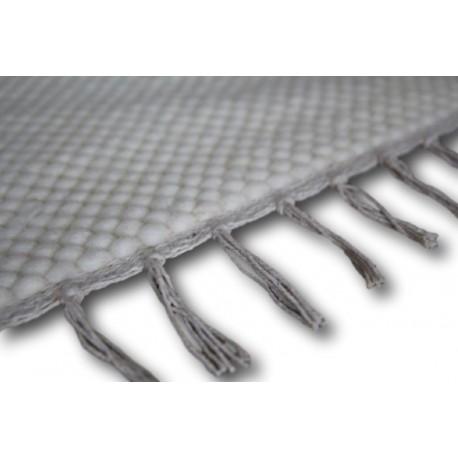 Dwustronny płasko tkany dywan z wełny filcowanej kulki 3d 170x240cm kilim Luxor Living Dublin