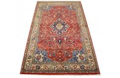 Tradycyjny piękny dywan Saruk z Iranu 136x232cm 100% wełna oryginalny ręcznie tkany perski