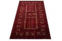 Ręcznie tkany oryginalny dywan Kunduz (Afganistan) ekskluzywny 158x248cm tkany na wełnie