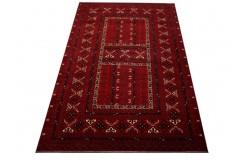 Ręcznie tkany oryginalny dywan Kunduz (Afganistan) ekskluzywny 164x250cm tkany na wełnie