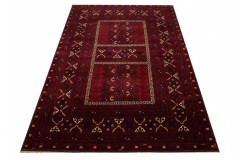 Ręcznie tkany oryginalny dywan Kunduz (Afganistan) ekskluzywny 166x248cm tkany na wełnie