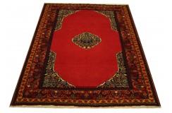 Ręcznie tkany antyczny nowy dywan afgański ekskluzywny gęsto tkany 143x175cm wełna ok 1950r.
