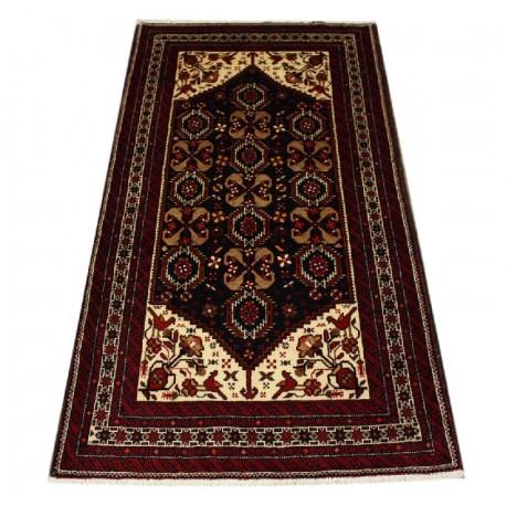 Dywan Beludż 100% wełna 104x195cm oryginał z Iranu tradycyjny
