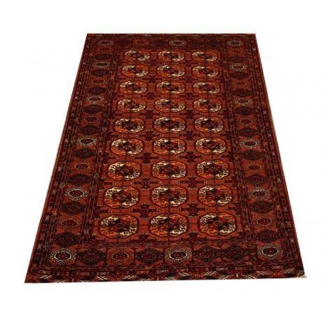 Afgan Mauri oryginalny 100% wełnian dywan z Afganistanu 124x186cm ręcznie gęsto tkany