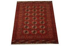 Afgan Mauri oryginalny 100% wełnian dywan z Afganistanu 125x159cm ręcznie gęsto tkany
