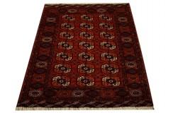 Afgan Mauri oryginalny 100% wełnian dywan z Afganistanu 130x170cm ręcznie gęsto tkany