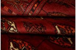 Afgan Mauri oryginalny 100% wełnian dywan z Afganistanu 130x167cm ręcznie gęsto tkany
