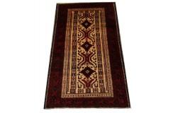 Dywan Beludż fein 100% wełna 92x171cm oryginał z Iranu etniczny
