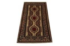 Dywan Beludż fein 100% wełna 80x151cm oryginał z Iranu etniczny