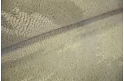 Nowoczesny wełniany dywan z Indii ręcznie tkany 180x270cm piękny wzór beż/szary