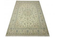 Nain 9la Habibian gęsto ręcznie tkany dywan z Iranu wełna + jedwab 166x257cm beżowy