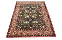 Ręcznie tkany antyczny dywan gęsto tkany 130x170cm wełna ok 1950r. Afganistan etniczny