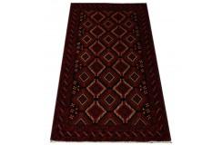 Dywan rękodzieło Beludżów 100% wełna 103x198cm oryginalny z Iranu tradycyjny perski