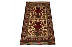 Dywan rękodzieło Beludżów 100% wełna 100x156cm oryginalny z Iranu tradycyjny perskie motywy