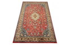 Tradycyjny piękny dywan Saruk z Iranu 129x222cm 100% wełna oryginalny ręcznie tkany perski
