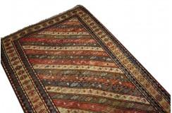 Unikatowy ręcznie tkany perski chodnik Malajer 139x351cm 100% WEŁNA hand made in Iran