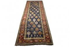 Antyk bogaty dywan sziraz z Iranu 115x345cm 100% wełna ręcznie tkany na wełnie