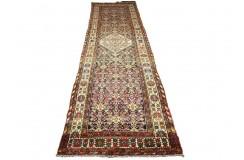 Antyczny ręcznie tkany perski chodnik Malajer 115x450cm 100% WEŁNA hand made in Iran