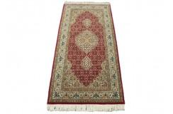 Dywan Tabriz 50Raj wełna kork+jedwab najwyższej jakości dywan z Iranu ok 70x150cm