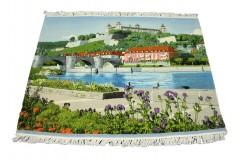 Dywan Tabriz 40Raj wełna najwyższej jakości dywan obrazkowy z Iranu 110x130cm