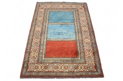 Ręczny tkany dywan Ziegler Gabbeh NOWOCZESNY piękne kolory 96x138cm